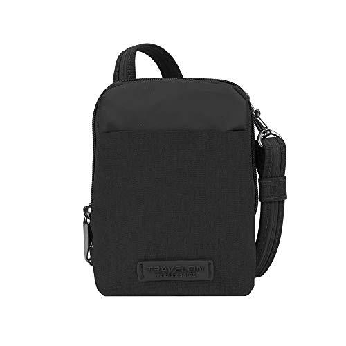 Travelon: Anti-Theft Metro Stadium Mini Crossbody Bag - Black