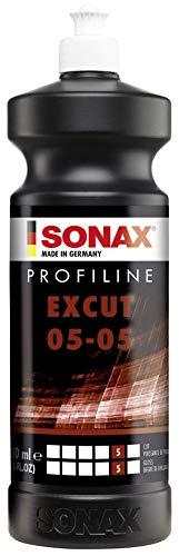 SONAX PROFILINE ExCut 05-05 (1 Litro) - pasta abrasiva rimuove strati di vernice graffiati o localmente corrosi.Elimina incisioni causate da resina, insetti, etc | Art. N. 02453000