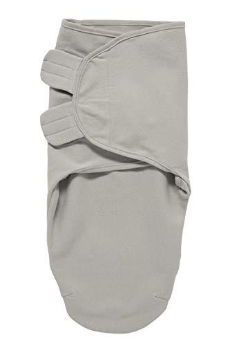 Meyco 300004 SwaddleMeyco - Pañuelo para envolver al bebé (0-3 meses, talla M), color gris