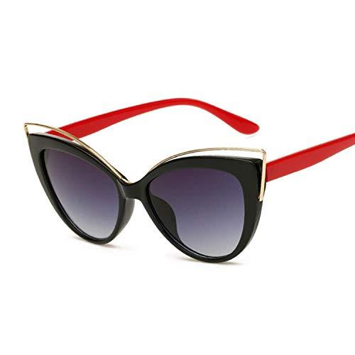 Gafas De Sol Gafas Negras Gafas De Sol De Ojos De Gato De Moda Mujeres Diseñador De Marca Gafas De Sol Vintage Gafas De Estilo De Fotograma Completo para Mujer Redlegs