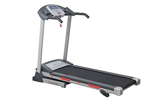 Sunny Health & Fitness SF-T7603 Motorized Treadmill, Grey