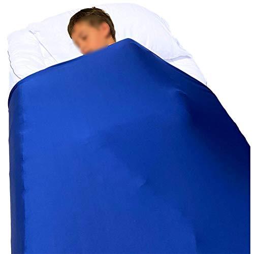 CHICTI Sensory Compression Blanket Kleinkinder Und Erwachsene Atmungsaktive Dehnbar Fester Druck Zur Beruhigung Entspannender Schlaf (Size : 160x147cm/63x58in)