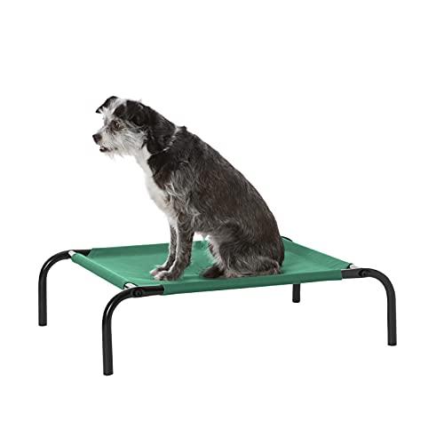 Amazon Basics - Cama elevada transpirable para mascotas, extrapequeña...