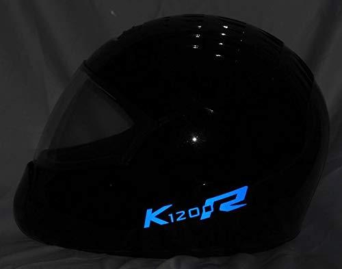 Helmaufkleber Helm Aufkleber reflektierend im Stil Typ3 für BMW K1200R Farbe...