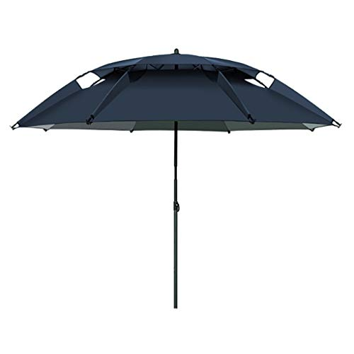 Sombrillas Pesca Paraguas Paraguas de Pesca al Aire Libre / 2.2 m / 2.4 m Paraguas de Pesca/Lluvia Universal/Lluvia de Paraguas Paraguas Plegable (Size : 2.2m)