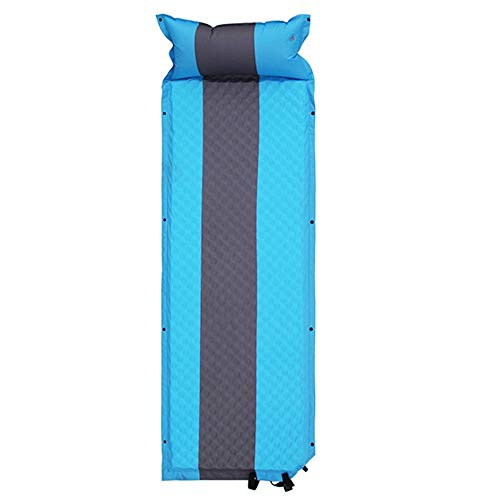 Song6 Strandzelt Mit anhängendem Kissen aufblasbare wasserdichte Faltbare kompakte Zelt schaumstoffmatte leichte luftmatratze selbstaufblasende einzelne Camping spleißen Schlafsack Camping Zelt