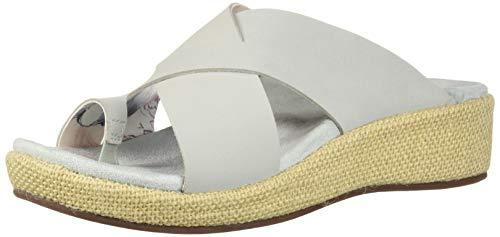 Spenco Women's Oasis Slide Sandal, Mercury, 8 Medium US