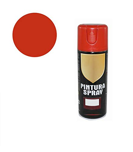 Pintura Spray Rojo Intenso 400 Ml