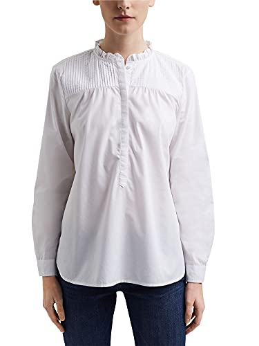 ESPRIT Bluse aus Organic Cotton