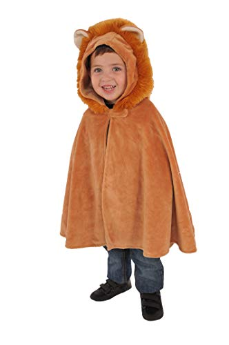 Opus Collection Lion Child Hooded Cape Child One Size