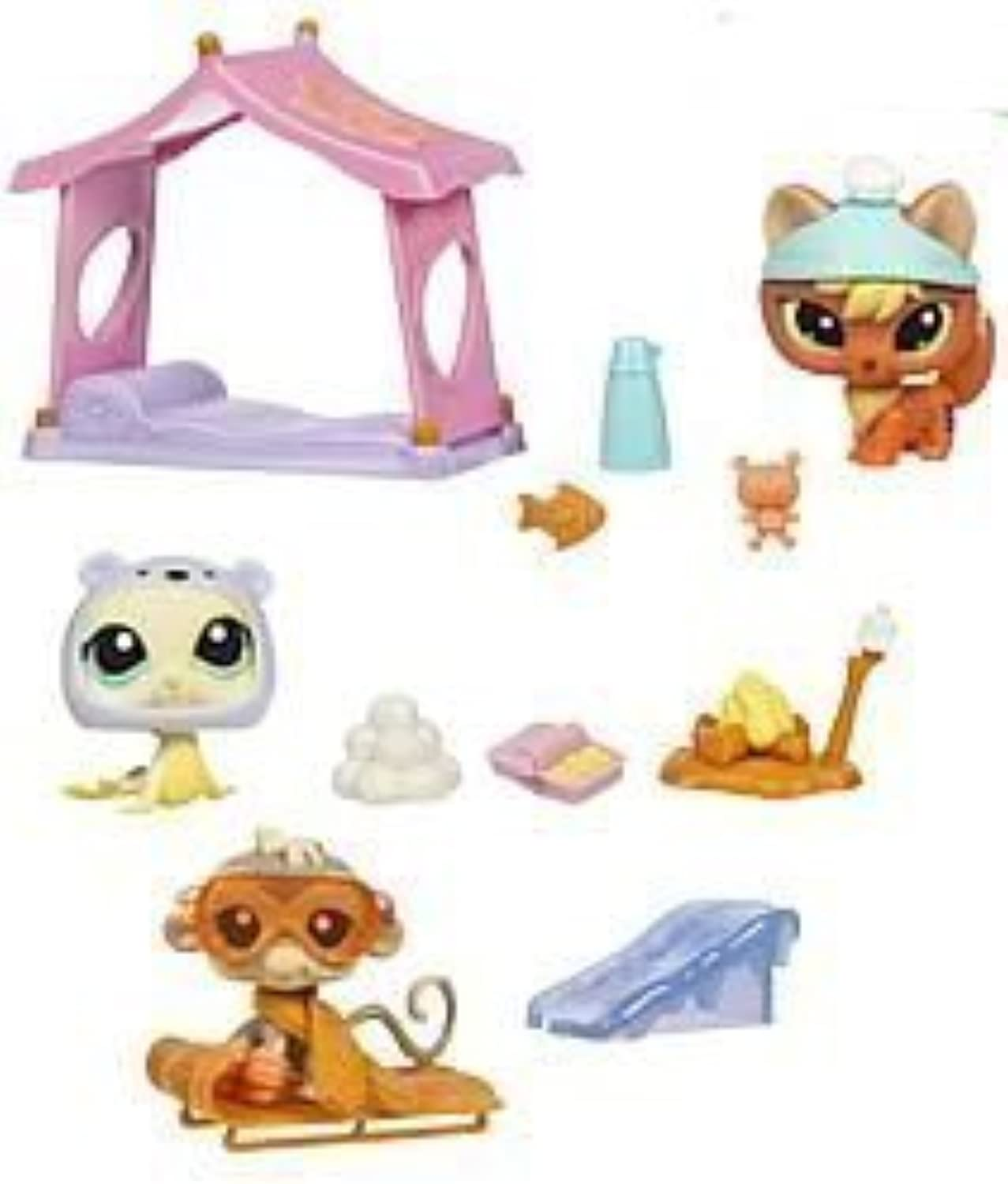 Littlest Pet Shop Themed Playpacks G3 - SNOW FUN by Littlest Pet Shop