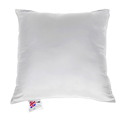 "HOMESCAPES Super Microfibre Cushion Pad 60 x 60 cm (24"" x 24"") Inner Insert Hypoallergenic Synthetic Cushion Filler Machine Washable"