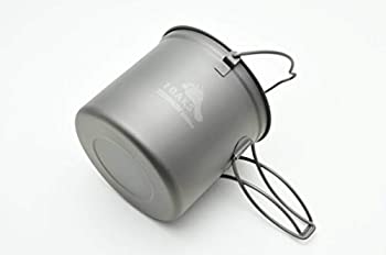 TOAKS Titanium 1100ml Pot with Bail Handle by TOAKS
