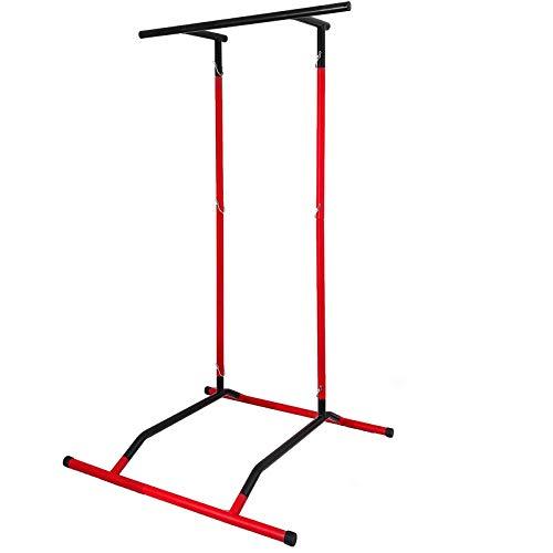 VEVOR Tragbare Fitness-Übung für Klimmzugstangen und Tauchstationen Premium Material Trainingsgerät im Freien Kraftstation und Fitnessgeräte für zuhause, Erwachsene, maximale Kapazität 100 kg