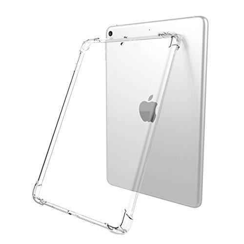 Funda Uso Rudo Transparente iPad 7 (2019) y iPad 8 (2020) 10.2 Pulgadas Airbag Anti Golpes Flexible Esquinas Reforzadas (Modelos:...