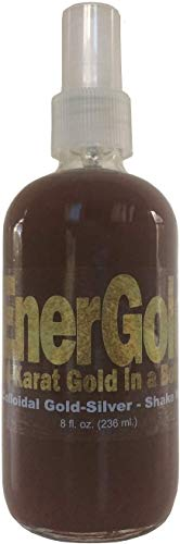 EnerGold® 99.99%-Pure Gold-Silver Colloidal Most-Potent Sanitizer Regenerator!