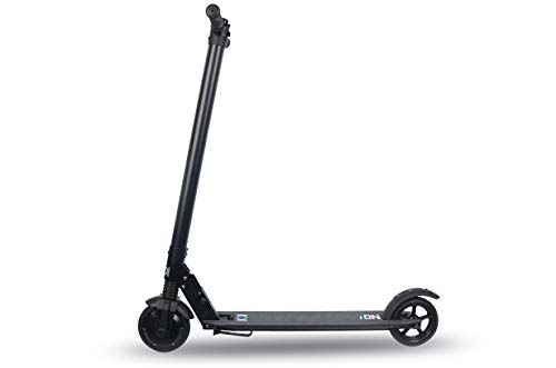 "ION Scooter Eléctrico Tech, Adultos Unisex, Negro, Ruedas de 6,5"" (165 mm)"
