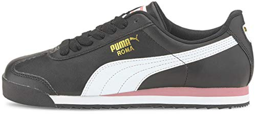 PUMA Roma Basic, Zapatillas Deportivas. para Mujer, Black Foxglove, 38 EU