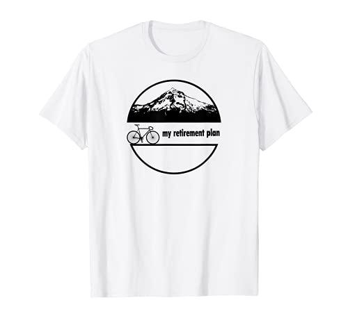 BICICLETA - MI PLAN DE RETIRO - DIVERTIDAD BICICLETA ESLOGAN Camiseta