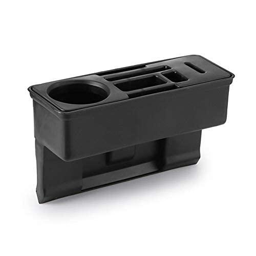 Caja de almacenamiento multifuncional para asiento de coche Gap Catcher, portavasos para organizador de bolsillo