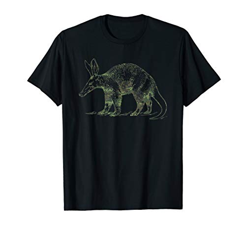 Military Aardvark Camo Print US Anteater Veteran Men Gift T-Shirt