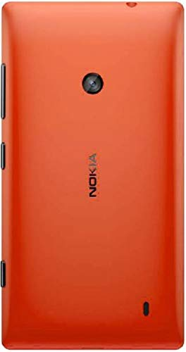 Technify Battery Back Door Glass Panel Cover for Nokia Lumia 520 Orange