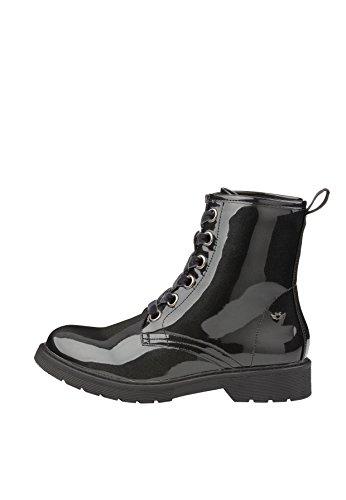 Fritzi aus Preussen Damen Ruby Patent Boot Stiefeletten, Schwarz (Black 1), 36 EU