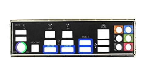 Gigabyte GA-990FXA-UD3 Rev.1.2 Blende - Slotblech - I/O Shield #38651