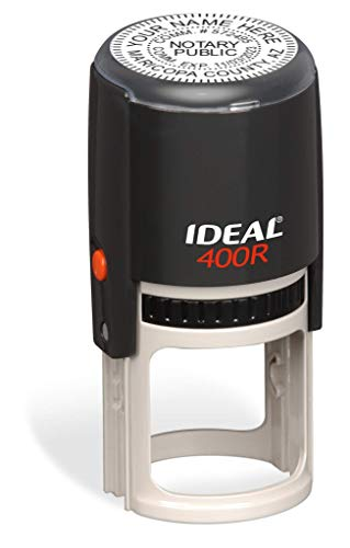 Round Notary Stamp for State of Arizona | Self Inking Unit - Ideal 400r with Advanced Durability