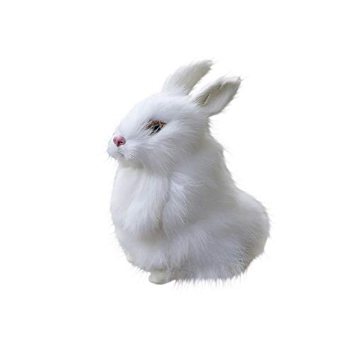 Committede The Rabbit Stuffed Animal Baby Toy Plush Easter Simulation Plush Bunny Toy Cute Doll Home Decoration Gift
