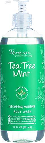 Renpure Plant-Based Beauty Tea Tree Mint Refreshing Moisture Body Wash