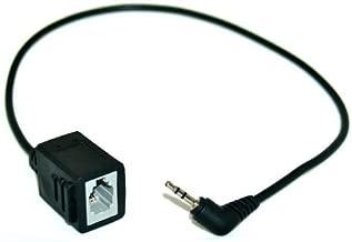 Headset Buddy Female Headset to Male 2.5mm Plug Adapter - Convert 4P4C RJ9 to Phone Jack Cable Works with Plantronics, ATT, Cisco, Panasonic, Cordless & VoIP Telephones (RJ9-PH25)