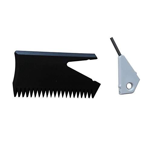 Casinlog - Peine de cera para tabla de surf con llave de aleta y removedor de limpieza para skimboard surf