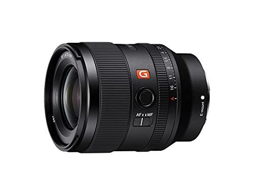 Sony SEL35F14GM - Objetivo Full-Frame FE 35mm F1.4 GM, Objetivo de Focal Fija Serie G Master