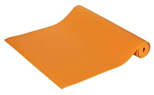 Yogamatte Premium 183 x 60 x 0, 45 cm Made in Germany, orange