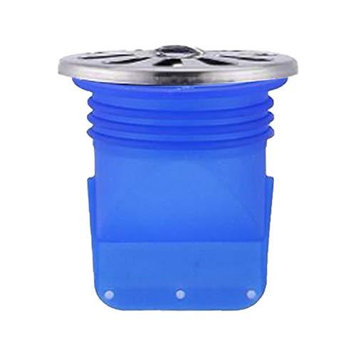 Duschablauf Badablauf Bodenablauf, Anti Geruchseinsatz Bodenablauf aus Silikon für Badezimmer, Küche, Balkon, 50 x 92 mm