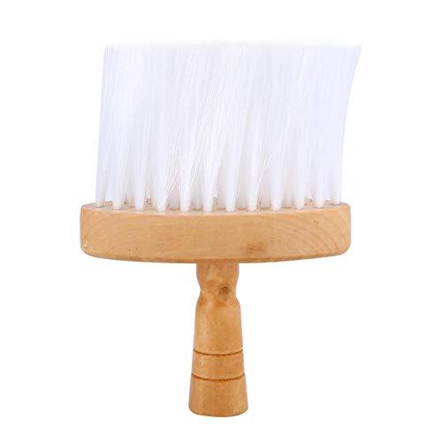 Broco 1pc doux cou Plumeau Brosses à cheveux propre brosse à cheveux en bois poignée outil for salon de coiffure Salon de coiffure