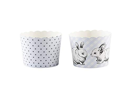 Simply Baked Small Baking Cups, Periwinkle Gingham