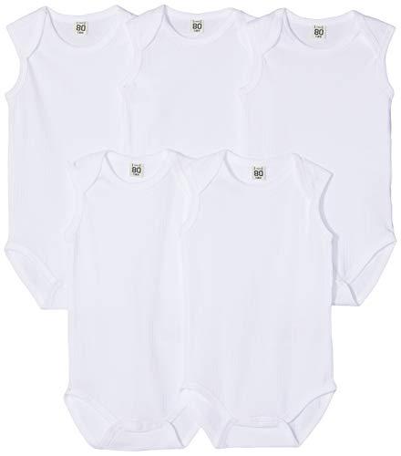 Care 550224 camiseta sin mangas, Blanco (White 100), 98, Pack de 5
