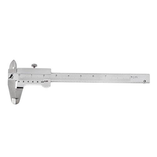 Autone 0–70mm Mini Pocket Messschieber, Edelstahl gehärtet Metrisches zerspanungsmechaniker