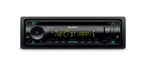 Receptor de CD SONY MEX-N5300BT Negro, con Bluetooth