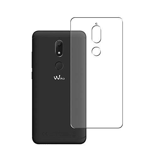 Vaxson 2 Stück Rückseite Schutzfolie, kompatibel mit Wiko View Prime 2017, Backcover Skin TPU Folie [nicht Panzerglas/nicht Front Displayschutzfolie]