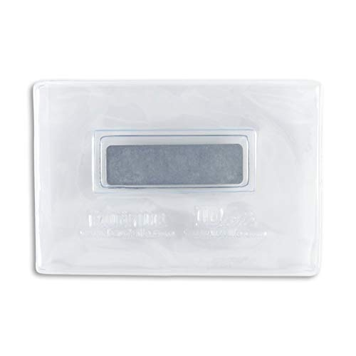 Clear Vinyl Veritcal or Horizontal Magnetic Badge Holder - Credit Card Sized (3 x 2) - 25 Pack