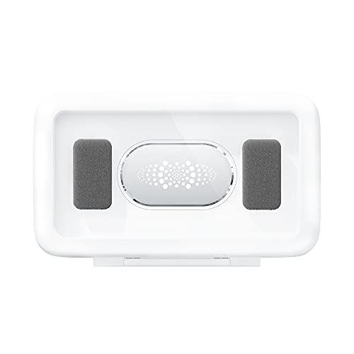 STARMOON Caja de almacenamiento de teléfono móvil impermeable y antivaho montada en la pared, protección de sellado confiable, pantalla táctil de alta sensibilidad, rotación libre de 360 grados