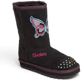 Skechers Kids Twinkle Toes-Butterfly Steps Light-Up Boot (Toddler)