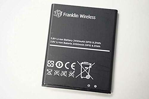 New OEM Battery Compatible with Franklin Wireless R850 Mobile Hotspot 2450 MaH