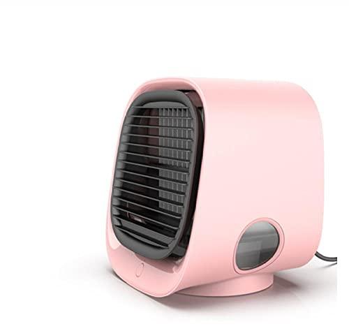 YYGQING Acondicionador de aire acondicionado refrigerante refrigerador de aire humidificador purificador portátil para sala de casas oficina 3 velocidades tranquila refrigeración ventilador aire enfri