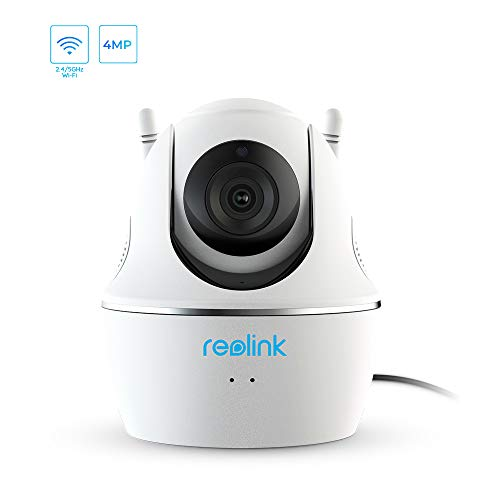 5GHz WiFi Camera for Home Security, 4MP Super HD Wireless Indoor Cam, PT Pan/Tilt Baby Monitor/Pet Camera, 2-Way Audio, Night Vision, Motion Detection, Support iOS/Android/Windows/Mac, SD Card Slot