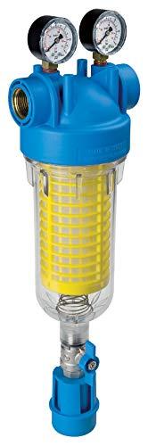 """HYDRA M 1"""" RLH 90 mcr Rückspülfilter Wasserfilter Hausfilter Brunnenfilter Sand"""
