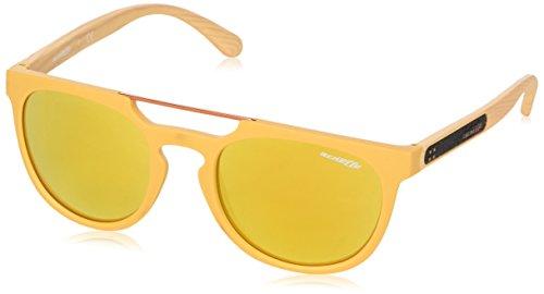 Arnette Woodward, Gafas de Sol para Hombre, Marrón (Matte Mustard), 52